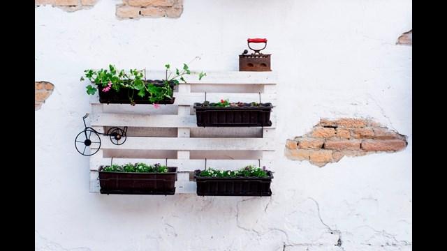 Credenza Per Terrazzo : Decorazioni fai da te per il balcone