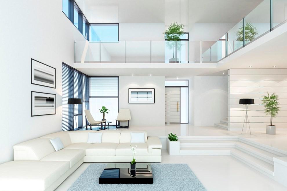 einrichtung im puristischen wohnstil materialien usblife. Black Bedroom Furniture Sets. Home Design Ideas