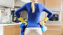 Wohnungsreinigung: Küche