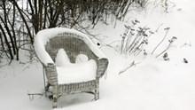I mobili da giardino sono pronti per l'inverno?
