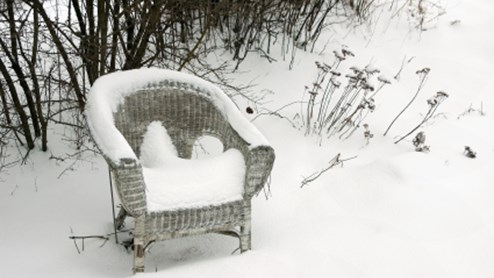 Gartenmobel Bereit Fur Den Winter