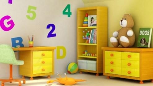 Kinderzimmer dem Alter anpassen.