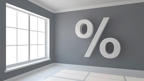 Actuellement, le taux d'intérêt de référence est de 1,75%.