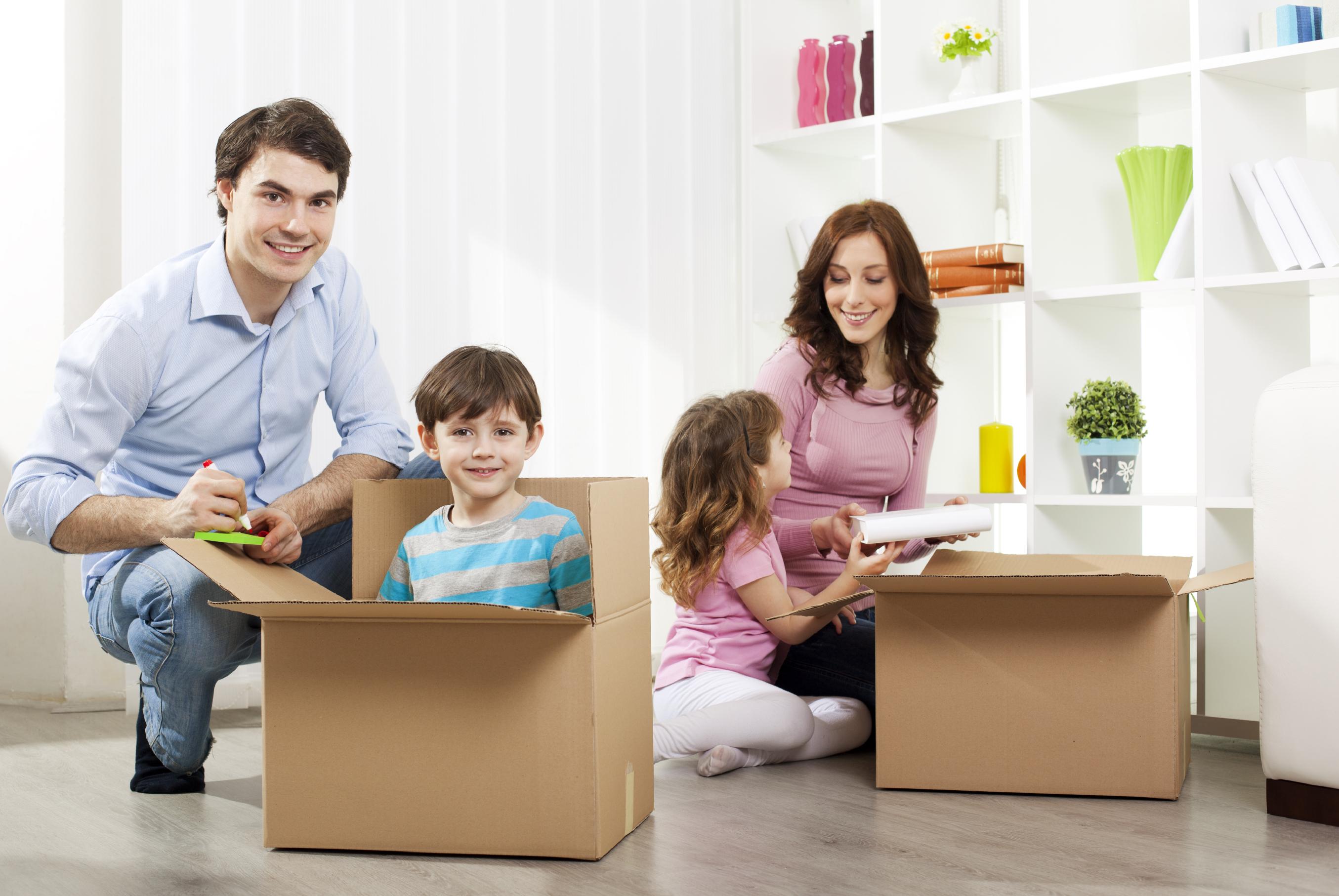 umziehen mit kindern. Black Bedroom Furniture Sets. Home Design Ideas