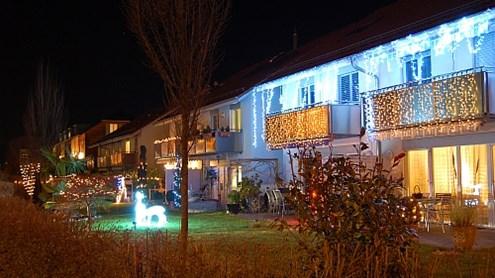 Lichtverschmutzung oder Weihnachtsbeleuchtung?