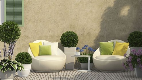 garten wie aus terrasse oder balkon eine gr ne oase wird. Black Bedroom Furniture Sets. Home Design Ideas