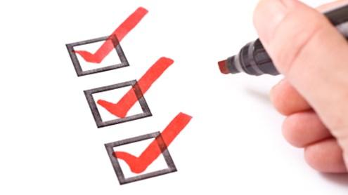 Checkliste – Beratungsgespräch bei der Bank