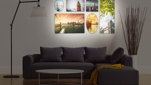 bilder aufh ngen. Black Bedroom Furniture Sets. Home Design Ideas