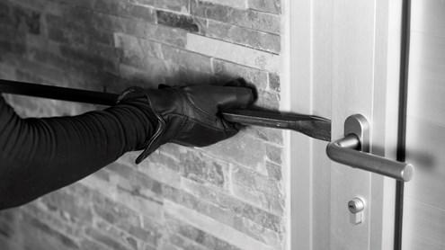 Wie Sie Einbrecher fernhalten