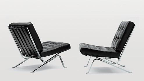 Le fauteuil intemporel en tubes d'acier