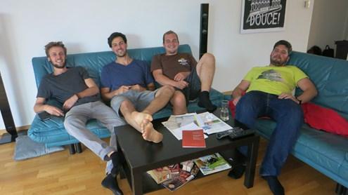 Porträt: Männer-WG in Biel