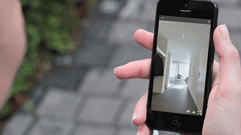 Virtuelle Wohnungsbesichtigung