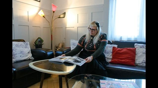 wohnen im vintage stil. Black Bedroom Furniture Sets. Home Design Ideas