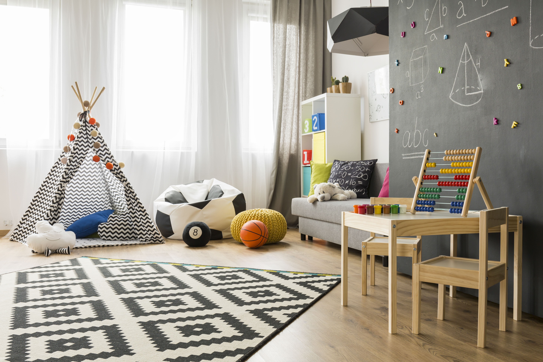 Malerisch Kinderzimmer Foto Von