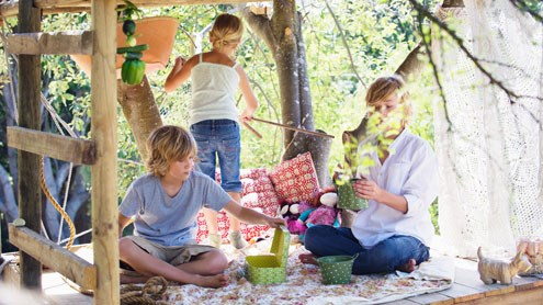 Consigli per un giardino a prova di bambini