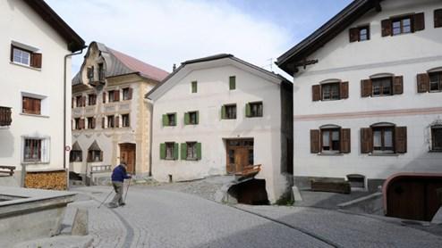 Sent Das schönste Dorf der Schweiz