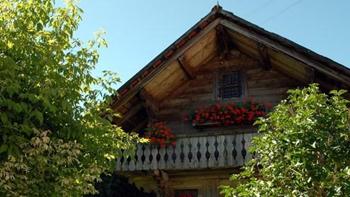 Grandvillard Das schönste Dorf der Schweiz