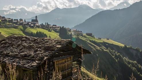 Lumbrein Das schönste Dorf der Schweiz
