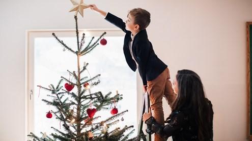 Kreative Alternativen zum Weihnachtsbaum