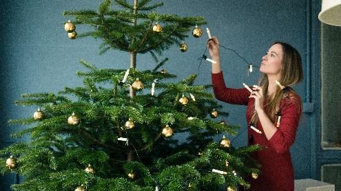 So bleibt der Christbaum länger frisch