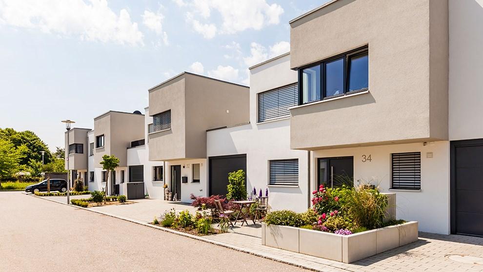 Haus Quartier Einfamilienhaus