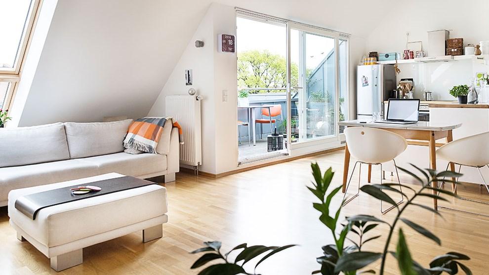 Wohneigentum Terrasse Wohnzimmer