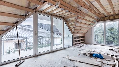 Renovierung des Eigenheims