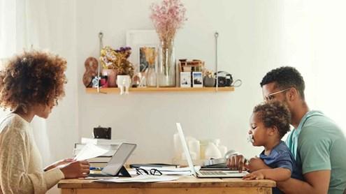 Obligation télétravail:  8 conseils sans et 5 conseils avec les enfants à la maison
